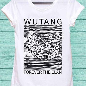 Wu Tang Clan, parody joy division Shirt Rock Shirt Hip Hop Top Punk Top Women T