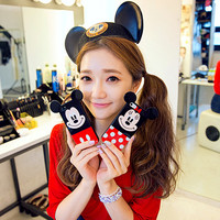 Mickey Mouse/Minnie Mouse Rubber Phone Case