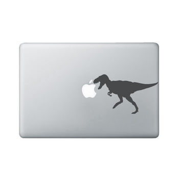 Tyrannosaurus Rex Laptop Decal - Dinosaur Macbook Sticker