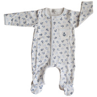 Magnolia Baby Anchors Away Printed Footie