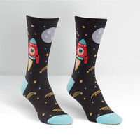 Sock It To Me - women's space cadet crew socks