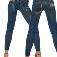New Fashion Legings Skinny Jeggings