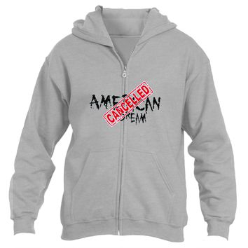 American Dream|Heavy Blend™ Fleece Zipper Hoodie|Underground Statements