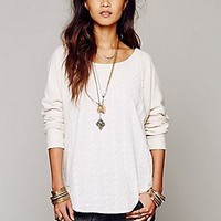 Free People  Oversized Woven Pieced Pullover at Free People Clothing Boutique