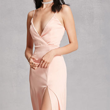 Girl In Mind Satin Maxi Dress