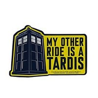 Doctor Who My Other Ride Car Magnet - 651905