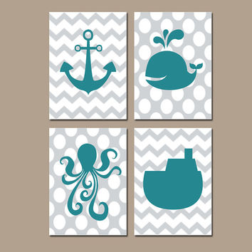 best nautical artwork products on wanelo, Bathroom decor