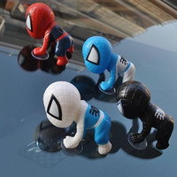 The window of the house and 4 color set with Sucker Spider-Man accessories car blue white red black Figure Set One World Shop original products (JAN Code: 4560491070167) (japan import)