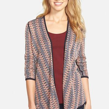 Women's NIC+ZOE 'Mixed Up' Four-Way Convertible Cardigan ,