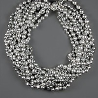 Givenchy Necklace, Gray Glass Pearl Cluster Drama - Necklaces - Jewelry & Watches - Macy's