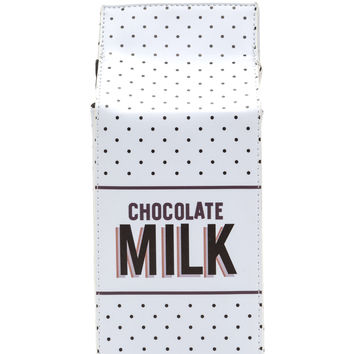 Got Chocolate Milk Polka Dot Clutch