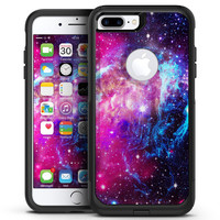 Bright Trippy Space - iPhone 7 or 7 Plus Commuter Case Skin Kit