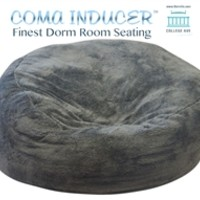 The Coma Inducer - Memory Foam Bean Bag Dorm Room Seating Dorm Room Comfort Bean Bag Chair For Dorm Memory Foam Seating College Comfort