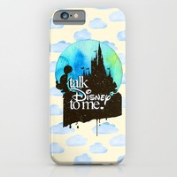 Talk Di$ney To Me iPhone & iPod Case by Sara Eshak