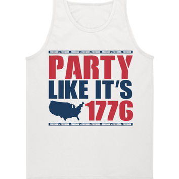 'Party Like It's 1776' Tank Top