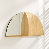 Right Angle Mirror Shelf | Urban Outfitters