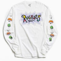 Rugrats Faces Long Sleeve Tee - Urban Outfitters