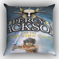 Percy Jackson and the Lightning Thief X0493 Zippered Pillows  Covers 16x16, 18x18, 20x20 Inches