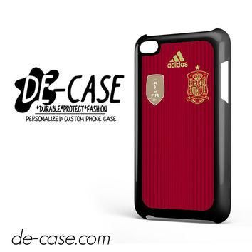 Spain Soccer Jersey For Ipod 4 Ipod Touch 4 Case Phone Case Gift Present YO