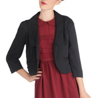 Tulle Clothing Front and Convention Center Blazer | Mod Retro Vintage Jackets | ModCloth.com