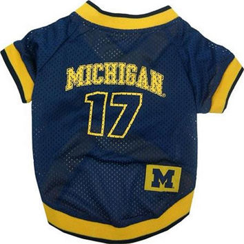 Michigan Wolverines Jersey Medium