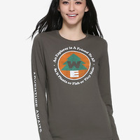 Disney Pixar Up Wilderness Explorer Womens Long Sleeve Tee - BoxLunch Exclusive