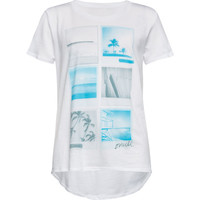 O'neill Insta Surf Girls Tee White  In Sizes
