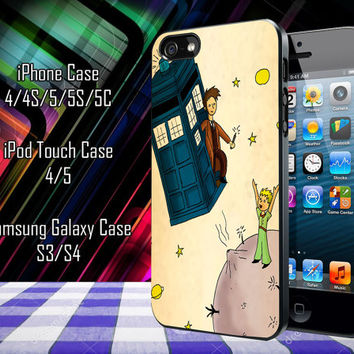 Tardis Doctor Who Little Prince Samsung Galaxy S3/ S4 case, iPhone 4/4S / 5/ 5s/ 5c case, iPod Touch 4 / 5 case