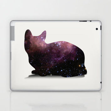 Willow the Galaxy Cat! Laptop & iPad Skin by All Is One