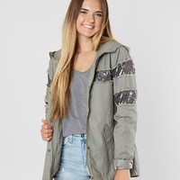 CoffeeShop Sequin Hooded Jacket - Women's Coats/Jackets in Olive | Buckle