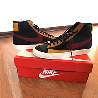 Nike Blazer Mid 77 Vintage high-top men's and women's fashion wild canvas shoes
