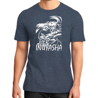 HER INUYASHA District T-Shirt (on man)