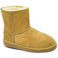 Classic Women's Fleece Ankle Boots