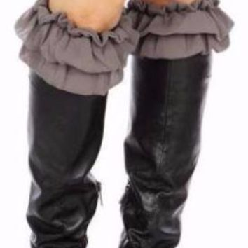 "Ruffles ""Gypsy Look"" Boot Cuffs"