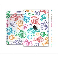 The Vector Color-FIsh Skin Set for the Apple iPad Mini 4