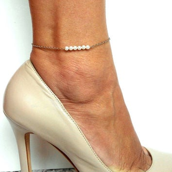 shop gold rack product k of image anklet real nordstrom