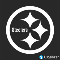 PITTSBURGH STEELERS NFL Sports VINYL DECAL STICKER