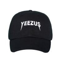 Yeezus Dad Cap Yeezus Tour Dad Hat Black