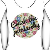 Crush the Patriarchy Scoop Neck