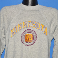 80s Minnesota Gold Gophers Sweatshirt Medium