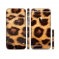 The Real Cheetah Print Sectioned Skin Series for the Apple iPhone 6s