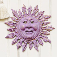 Sun Wall Plaque - Choose your Color - Colorful Cast and Crew