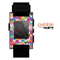The Color Knitted Skin for the Pebble SmartWatch