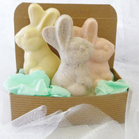 White Chocolate and Fruit Bunnies by No Whey! Chocolates