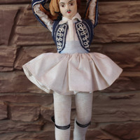 Greece Traditional Costume Doll, Man Doll, Male Figurine Greekland