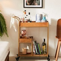 Tatiana Bar Cart | Urban Outfitters