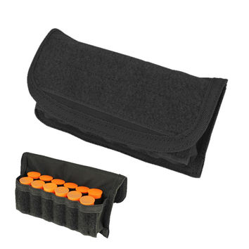 Shotgun Ammo Pouch Color- Black