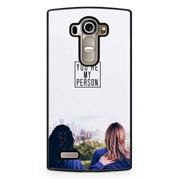 Twisted Sisters LG G4 Case