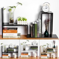 DIY Table Desktop Storage Rack Display Shelf Organizer Counter Top Bookcase - Walmart.com