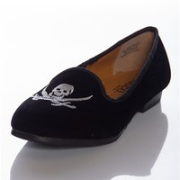 Besotted Buccaneer Faux Suede Loafers - Black from Preppy at Lucky 21